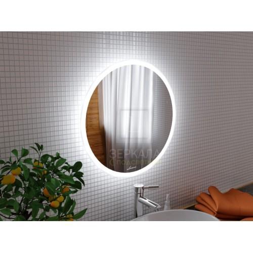 Зеркало с подсветкой для ванной комнаты Сиена